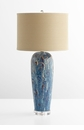 Translation Blue Table Lamp by Cyan Design