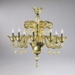Treviso 8 Light Amber Chandelier by Cyan Design