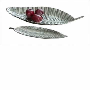Dessau Home Tropical Leaf Platter Home Decor