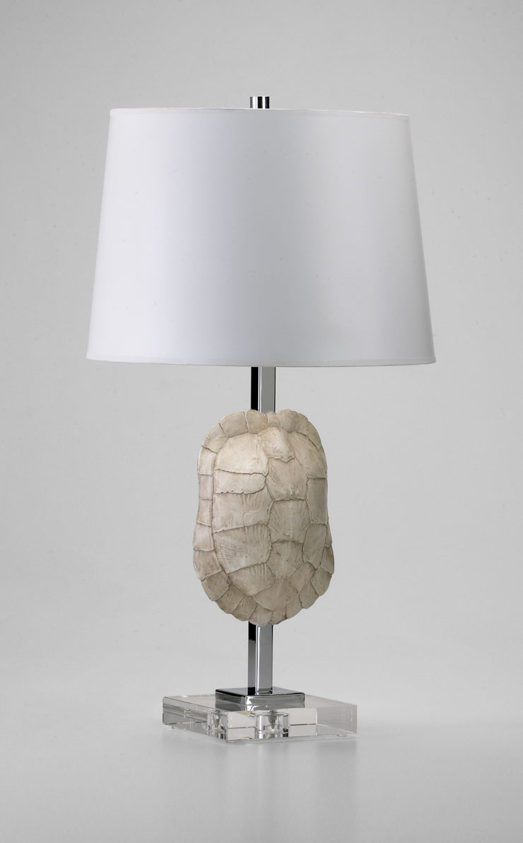 Turtle shell table lamp by cyan design mozeypictures Gallery
