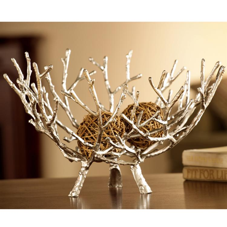 Twig bowl by spi home 176 you save for Twig decorations home