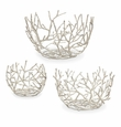 Twig Round Bowls Set Of 3 by SPI Home