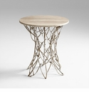 Twigs Iron Side Table by Cyan Design