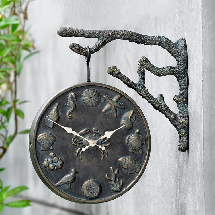 Undersea Life Garden Clock By Spi Home 124 You Save 45 00