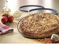 "USA Pan - 14"" Thin Crust Pizza Pan (½"" Deep) - Hard Anodized"