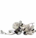 Vagabond House Orchids Pewter Napkin Ring (4)
