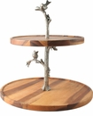 Vagabond House Pewter Cheese Stand - Song Bird