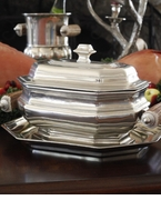 Vagabond House Pewter & Stainless Steel Serving Bowls & Trays