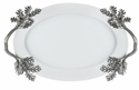 Vagabond House Porcelain Tray Small - Acorn/Oak leaf