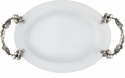 Vagabond House Porcelain Tray Small - Vegetable Garden