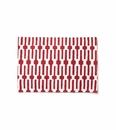 Vietri Accent Linens Red Links Placemat