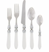 Vietri Aladdin Clear Five Piece Place Flatware Place Setting-Antique