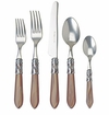 Vietri Aladdin Five-Piece Place Setting Taupe - Brilliant