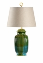 Vietri Aquamarine San Michele Table Lamp