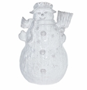 Vietri Bellezza Holiday Snowman Centerpiece