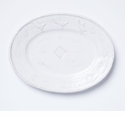 Vietri Bellezza Stone White Large Oval Platter