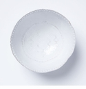 Vietri Bellezza Stone White Medium Deep Serving Bowl