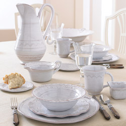 Vietri Bellezza White Dinnerware & Vietri Bellezza Italian Dishes Collection