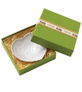 Vietri Bellezza White Heart Dish, Boxed