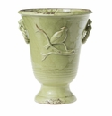 Vietri Birds Tall Footed Planter