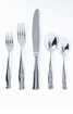 Vietri Borgo Stainless Steel Five-Piece Place Setting