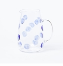 Vietri Drop Pitcher - Blue