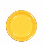 "Vietri Fantasia Yellow Salad Plate 7.5""D"