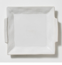 Vietri Forma Cloud Square Handled Platter