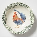 Vietri Gather Rooster Large Bowl