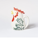 Vietri Gather Rooster Small 3.5 cup Pitcher