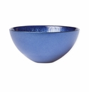 Vietri Glitter Glass Cobalt Small Bowl