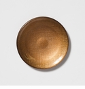 Vietri Glitter Glass Copper Canape Plate