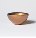 Vietri Glitter Glass Copper Small Bowl