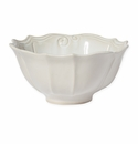 Vietri Incanto Stone Linen Baroque Medium Serving Bowl