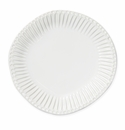 Vietri Incanto Stone White Stripe Dinner Plate