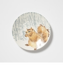 Vietri Into the Woods Squirrel Small Round Platter