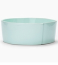 Vietri Lastra Aqua Large Serving Bowl