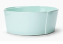 Vietri Lastra Aqua Medium Serving Bowl
