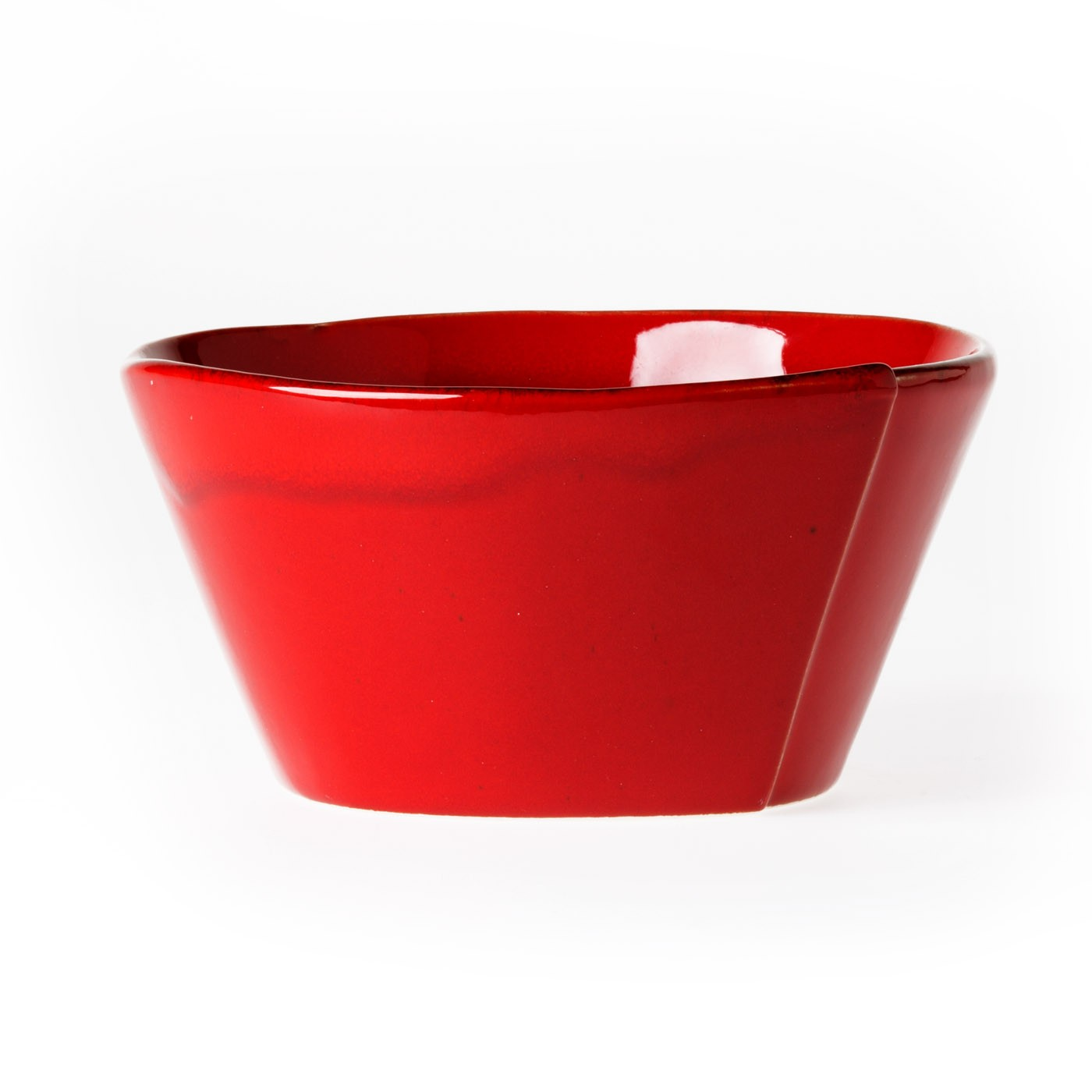 Vietri Lastra Red Stacking Cereal Bowl