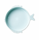 Vietri Melamine Lastra Fish Aqua Medium Serving Bowl