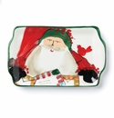 Vietri Old St. Nick 2016 Limited Edition Rectangular Plate