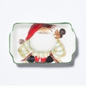 Vietri Old St. Nick 2017 Limited Edition Rectangular Plate Boxed