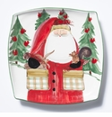 Vietri Old St. Nick 2017 Limited Edition Square Platter Boxed