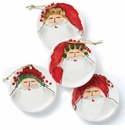 Vietri Old St. Nick Assorted Ceramic Ornaments