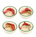 Vietri Old St. Nick Assorted Condiment Bowls (Set of 4)