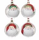 Vietri Old St. Nick Assorted Ornaments (4)