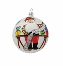 Vietri Old St. Nick Checking Off List Ornament