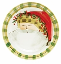 Vietri Old St. Nick Dinner Plate - Animal