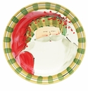 Vietri Old St. Nick Dinner Plate - Striped