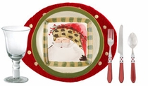 Celebrate Christmas with traditional Tuscan style this year by setting the table with Vietri Old St. Nick Dinnerware. The attractive Italian Christmas china ...  sc 1 st  Distinctive Decor & Vietri Old St. Nick Holiday Dinnerware and Bakeware
